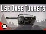 Squadplays: Base Turrets (PlanetSide 2 Gameplay Commentary)