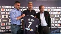 Football/Bordeaux: présentation officielle de Jérémy Ménez