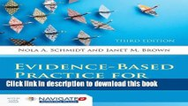 Books Evidence-Based Practice For Nurses: Appraisal and Application of Research (Schmidt, Evidence