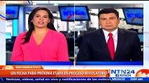 CNE pide investigación sobre supuestas irregularidades en la recolección de firmas para revocatorio en Venezuela