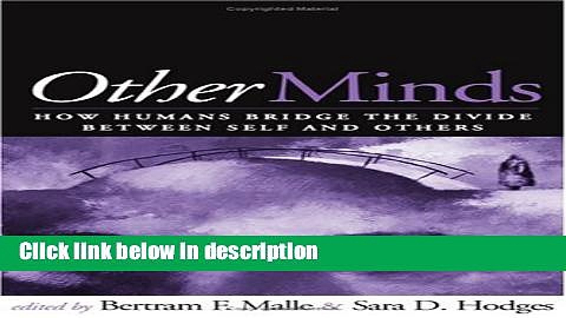 Ebook Other Minds: How Humans Bridge the Divide between Self and Others Free Download