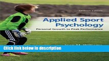 Ebook Applied Sport Psychology: Personal Growth to Peak Performance Free Online