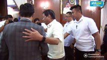 President Duterte meets with Senator Manny Pacquiao