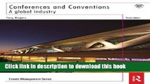 Books Conferences and Conventions 3rd edition: A Global Industry (Events Management) Full Online