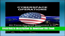 Books Air Force Doctrine Document 3-12, Cyberspace Operations - Malware, Network Defense,