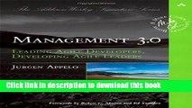 Ebook Management 3.0: Leading Agile Developers, Developing Agile Leaders by Jurgen Appelo (Dec 28