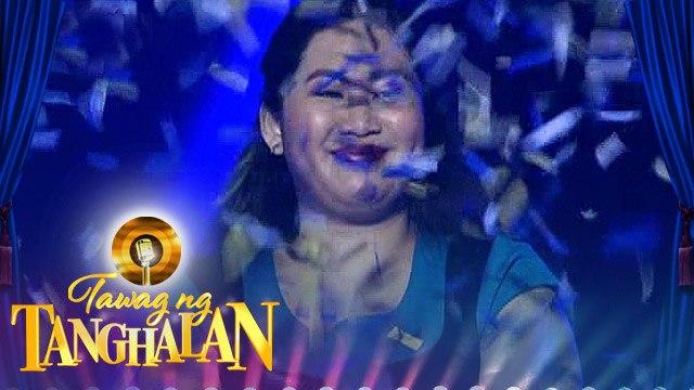 Tawag Ng Tanghalan: Venus Pelebello defended the golden microphone