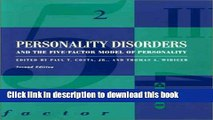 Books Personality Disorders and the Five-Factor Model of Personality Full Download
