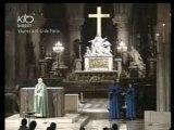 Magnificat et Notre Père à Notre DAME DE paris