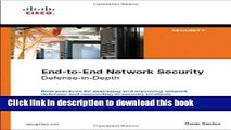 Books End-to-End Network Security: Defense-in-Depth Free Online