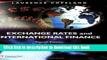 Books Exchange Rates and International Finance (4th Edition) Free Online