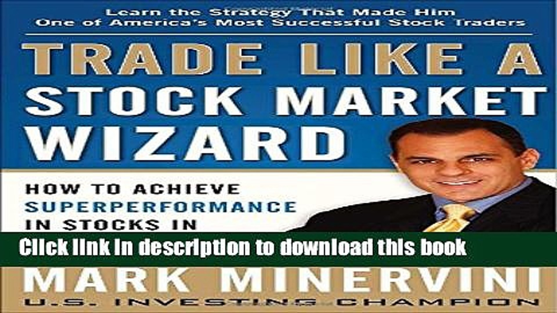 Ebook Trade Like a Stock Market Wizard: How to Achieve Super Performance in Stocks in Any Market