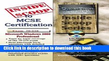 Ebook InsideScoop to MCP/MCSE Certification: Microsoft Windows 2000 Professional Exam # 70-210