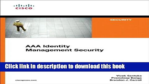 Ebook AAA Identity Management Security (Networking Technology: Security) Free Download