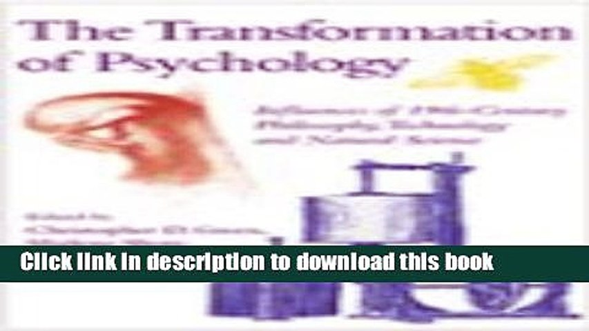The transformation of psychology