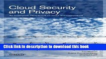 Books Cloud Security and Privacy: An Enterprise Perspective on Risks and Compliance Free Online