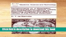 Ebook Nymphomania, or, a dissertation concerning the furor uterinus. Clearly and methodically