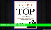 FAVORIT BOOK A Climb to the Top: Communication   Leadership Tactics to Take Your Career to New