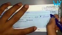 Beware of cheque frauds