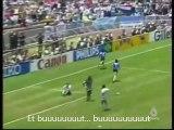 Le but légendaire de Maradona contre l'Angleterre (1986)