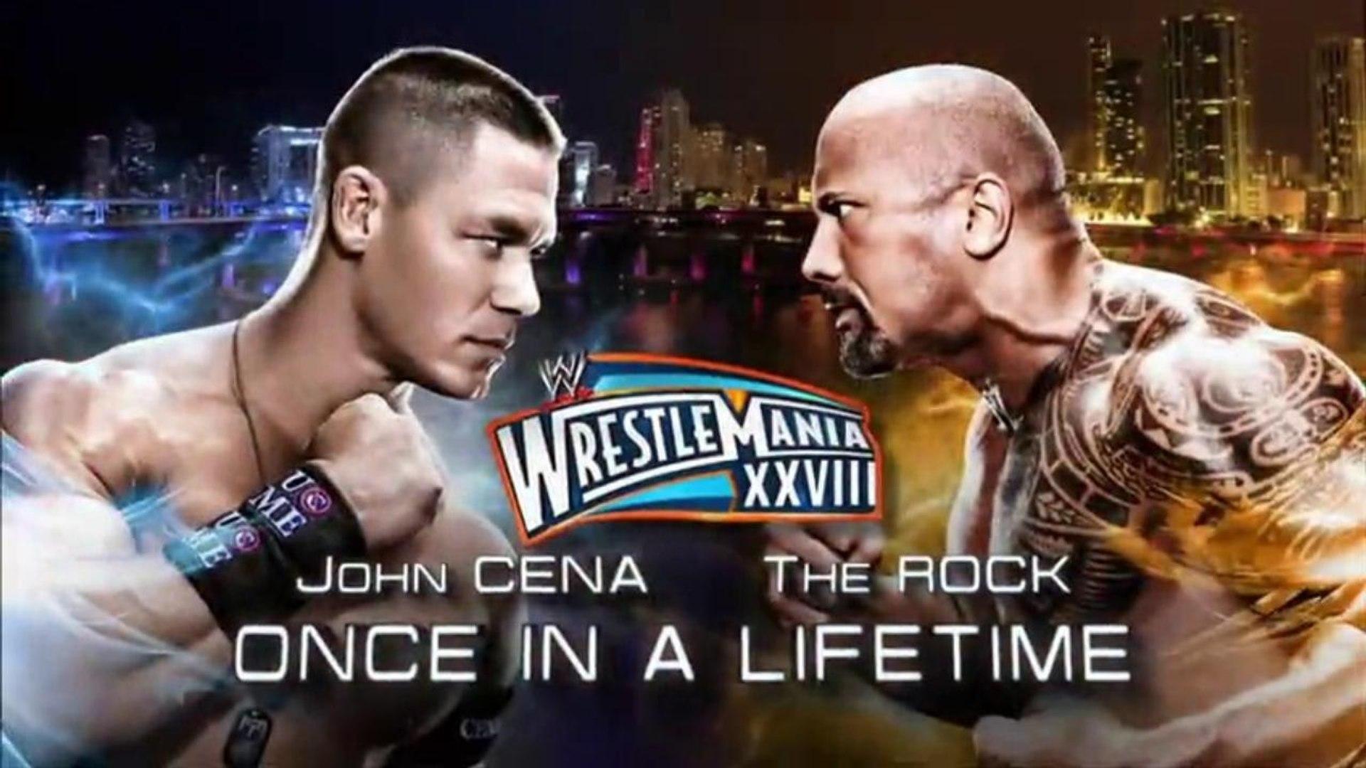 John Cena vs The Rock (WrestleMania XVIII ITA)