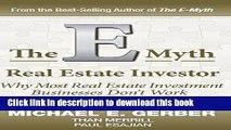 Books The E-Myth Real Estate Investor Free Online