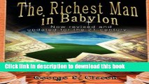 Ebook The Richest Man in Babylon: Now Revised and Updated for the 21st Century Full Online