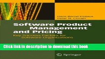 Books Software Product Management and Pricing: Key Success Factors for Software Organizations Full
