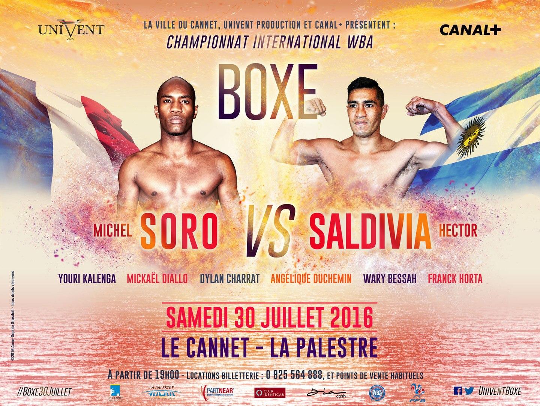 Highlights Michel Soro vs Hector Saldivia