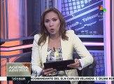 Venezolanos marchan en apoyo a la Gran Misión de Abastecimiento
