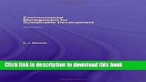 Ebook Environmental Management for Sustainable Development (Routledge Environmental Management)
