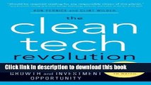 [Read PDF] The Clean Tech Revolution: Winning and Profiting from Clean Energy Download Free