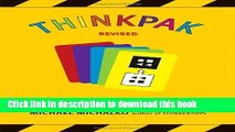 Books Thinkpak: A Brainstorming Card Deck Free Online