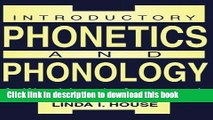 PDF] Introductory Phonetics and Phonology: A Workbook
