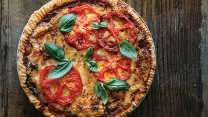 How to Make Southern Tomato Pie