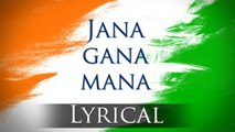 Jana Gana Mana - India National Anthem  English lyrics