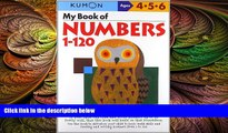 there is My Book Of Numbers 1-120 (Kumon Workbooks)