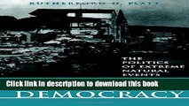 Ebook Disasters and Democracy: The Politics Of Extreme Natural Events Free Online