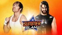 Seth Rollins vs. Dean Ambrose Lumberjack Match-Summerslam 2014