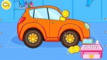 Car Safety - Seats Babybus baby panda - this educational game provides children with puzzles