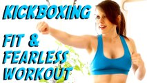 Cardio Kickboxing Workout for Tone, Lean Arms! At Home Beginners Workout, Learn to Kickbox
