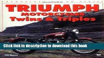 Download Triumph Motorcycles Twins   Triples (Enthusiast Color) Ebook Free