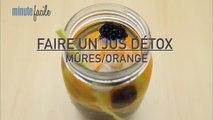 Cuisine : 3 recettes de détox water aux fruits pour nettoyer l'organisme