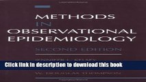 Books Methods in Observational Epidemiology Free Download