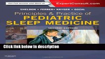 Books Principles and Practice of Pediatric Sleep Medicine: Expert Consult - Online and Print, 2e