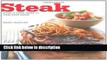 Books Steak: From T-bone Steak to Teryiake Beef Salad Free Download