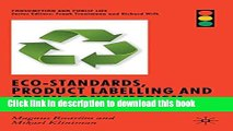 Ebook Eco-Standards, Product Labelling and Green Consumerism (Consumption and Public Life) Free