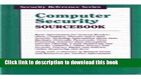 Books Computer Security Sourcebook (Security Reference) Full Online