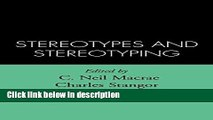 Books Stereotypes and Stereotyping Full Online