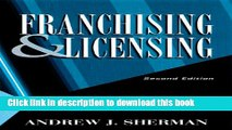 Books Franchising   Licensing: Two Ways to Build Your Business Full Online
